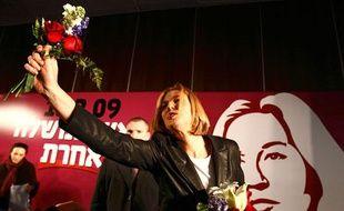 La ministre des Affaires étrangères israélienne Tzipi Livni à Jérusalem le 6 février 2009.