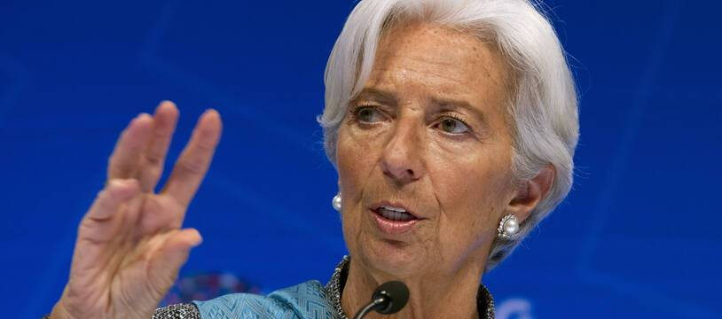 Christine Lagarde à Washington, le 13 avril 2019.