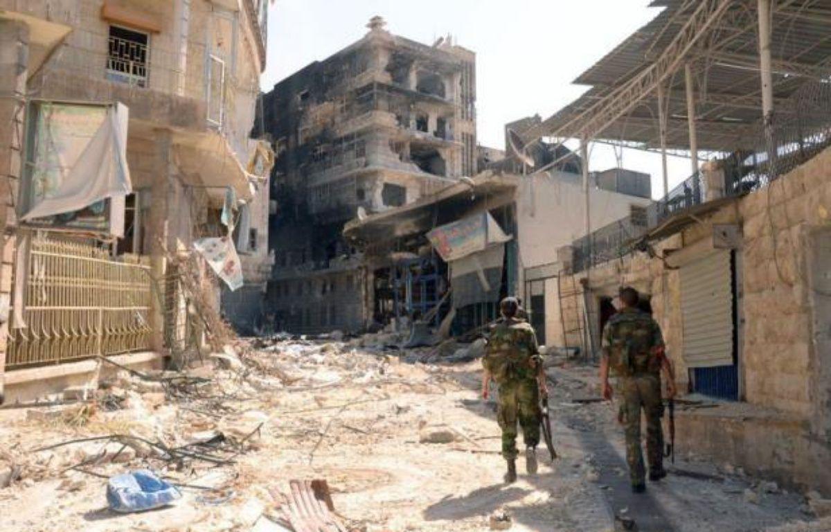 Un chef rebelle a affirmé dimanche que le régime syrien perdait de plus en plus de terrain dans le conflit armé en Syrie, à la veille d'une intervention devant le Conseil de sécurité de l'ONU du médiateur Lakhdar Brahimi. – - afp.com