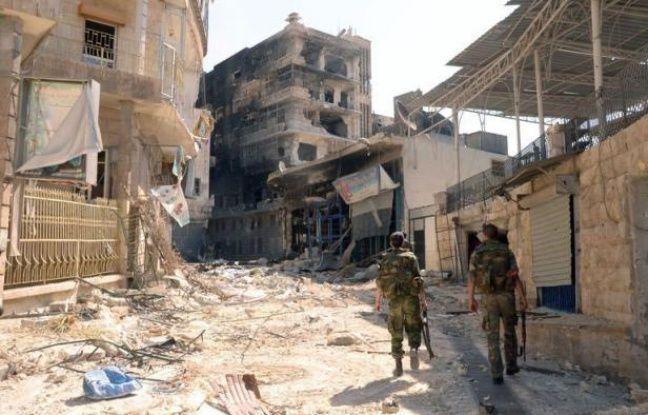 Un chef rebelle a affirmé dimanche que le régime syrien perdait de plus en plus de terrain dans le conflit armé en Syrie, à la veille d'une intervention devant le Conseil de sécurité de l'ONU du médiateur Lakhdar Brahimi.