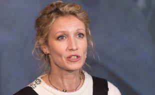 Alexandra Lamy au Festival international du film de comédie de l'Alpe d'Huez le 19 janvier 2018.