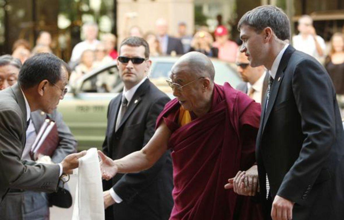 Le dalaï-lama est arrivé à Washington le 5 octobre 2009 – REUTERS/Kevin Lamarque