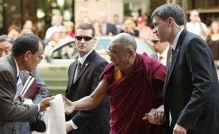 Le dalaï-lama est arrivé à Washington le 5 octobre 2009