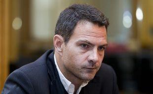 Le 09 septembre 2013, Jérôme Kerviel en interview dans le bureau de son avocat Me Koubbi.