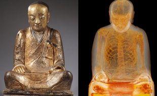 Le «Patriarche de Zhanggong» contient un squelette momifié.