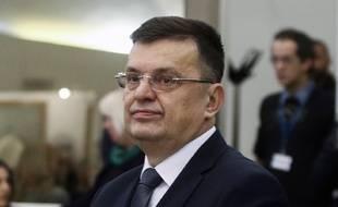 Zoran Tegeltija, président du Conseil des ministres de Bosnie-Herzégovine, le 5 décembre 2019 à Sarajevo.