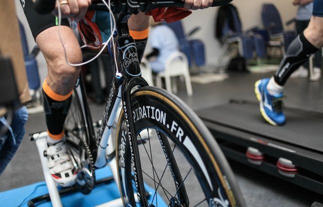 Le vélo de Philippe Dieumegard.