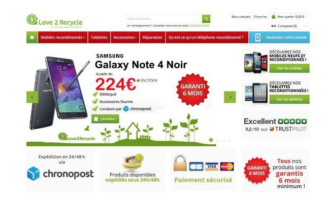 Le prix moyen d'un mobile recyclé est actuellement de 260 euros, selon le Gfk.