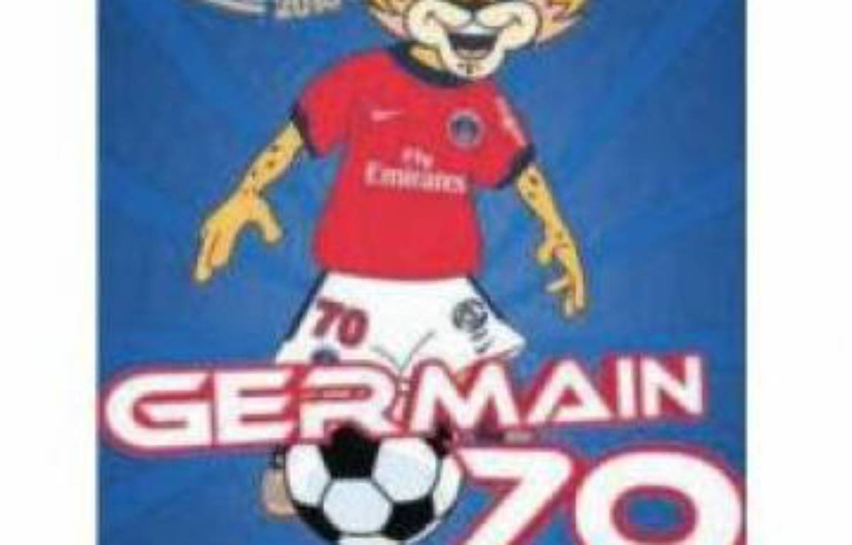 Germain, la nouvelle mascotte du PSG – PSG