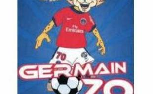 Germain, la nouvelle mascotte du PSG