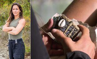 Lucie a trouvé un bracelet noir, ce que le public n'a pas beaucoup aimé