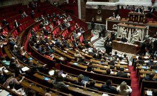 Séance des questions au gouvernement, Palais-Bourbon (Assemblée nationale), Paris, France, le 1er août 2018. Dernière session avant la pause estivale.