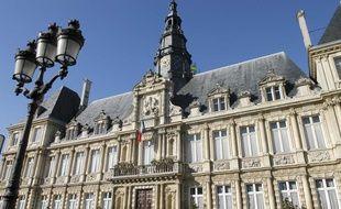 La mairie de Reims, en 2008.