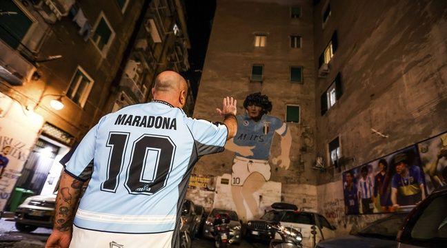 «Maradona rendu possible l'impossible», Naples ou la passion pour Diego