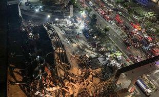 L'hôtel Xinjia, situé dans la ville de Quanzhou, s'est écroulé le 7 mars 2020.