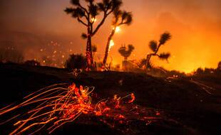 Un incendie en Californie, le 18 septembre.