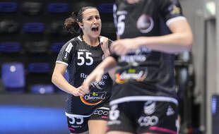 La brestoise Pauline Coataena a une nouvelle fois brillé contre Nantes (illustration)