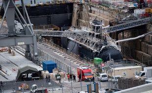 Un sous-marin nucléaire à l'arrêt et en travaux a été le théâtre d'un incendie vendredi 12 juin 2020 à Toulon.