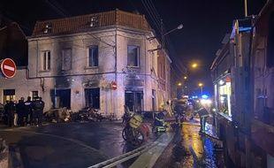 L'intervention des pompiers à Wattrelos.
