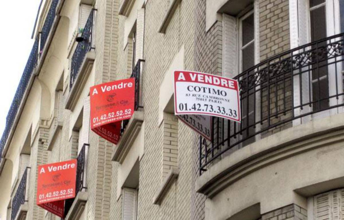Illustration d'appartements mis en vente. – PATRICK KOVARIK / AFP