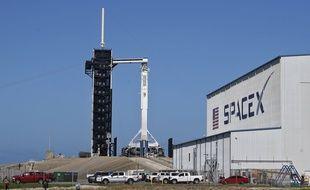 Une fusée SpaceX à Canaveral. (illustration)