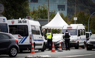 Les forces de police commencent à se déployer autour de Biarritz pour le sommet du G7, du 24 au 26 août.