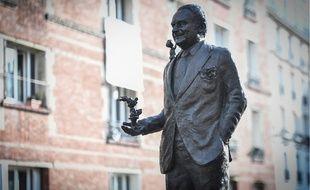 Une statue en hommage à René Goscinny a été inaugurée à Paris le 23 janvier 2020.