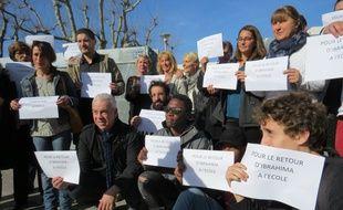 Des élèves et professeurs du lycée Saint-Exupéry