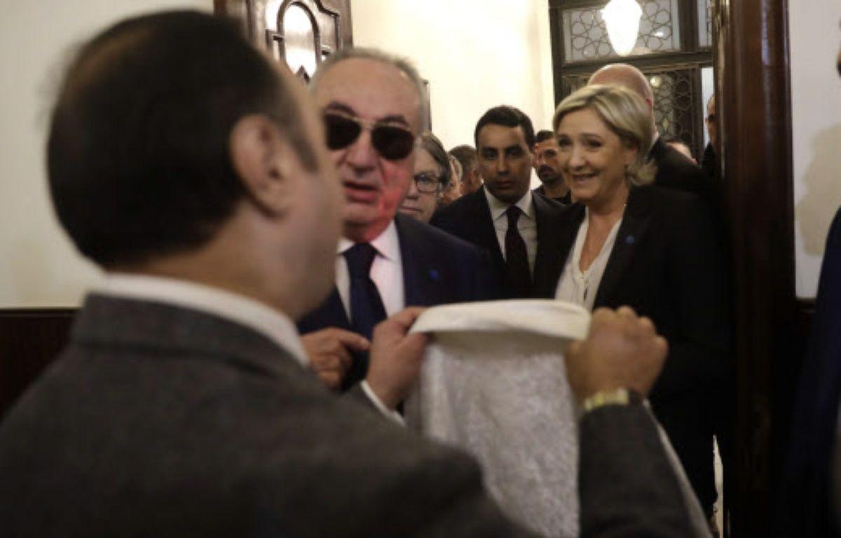 Marine Le Pen a refusé de porter le voile pour rencontrer le mufti de Beyrouth. – Hussein Malla