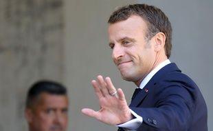 Emmanuel Macron à l'Elysée, le 10 septembre 2019.
