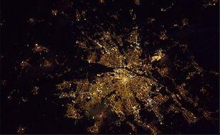 Thomas Pesquet a publié une nouvelle photo de Nantes vue de l'espace.