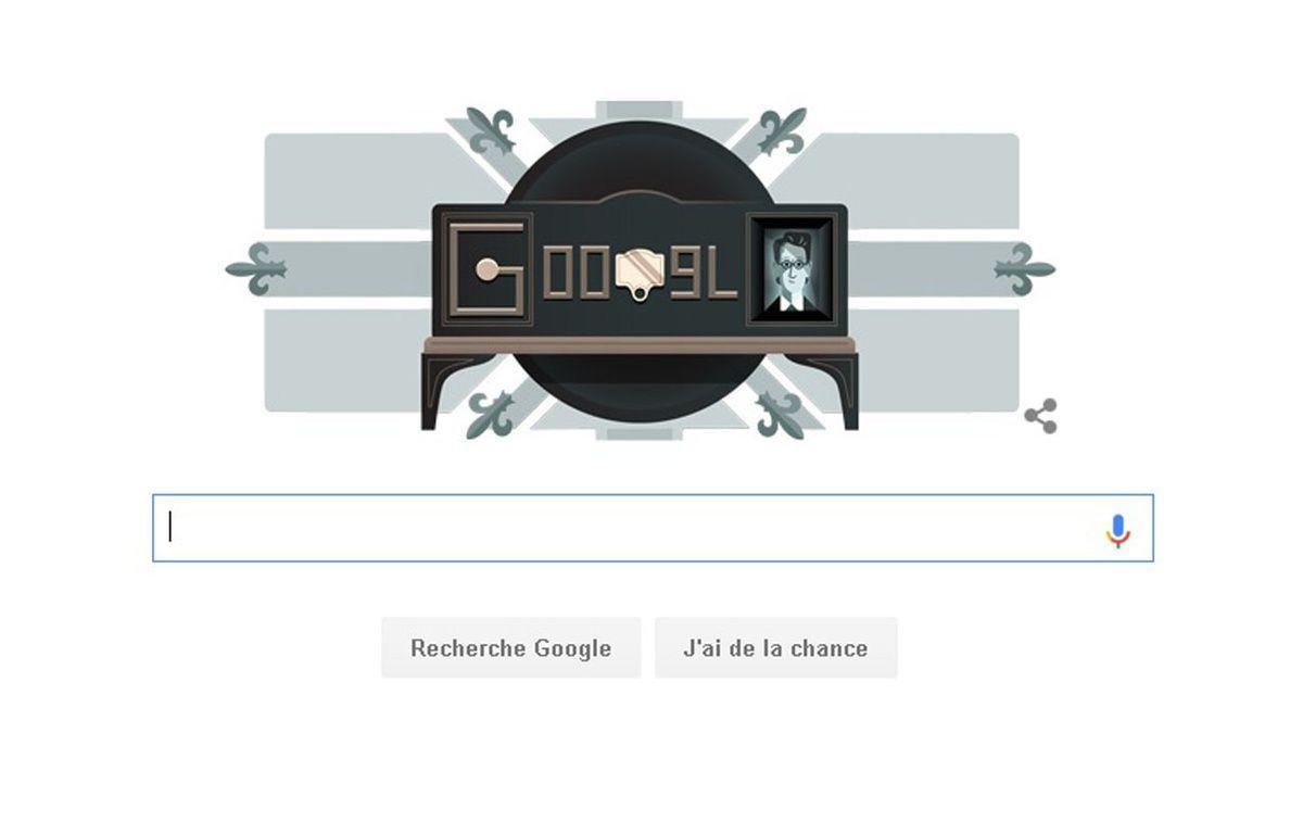 La page d'accueil de Google ce mardi – capture d'écran Google