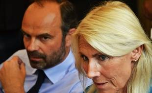 Edouard Philippe, et Marie Sara, jeudi.