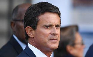 Manuel Valls aux funérailles de Jacques Chirac, le 30 septembre 2019.