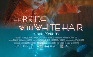 Affiche du film La mariée aux cheveux blancs