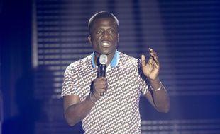 L'humoriste Donel Jack'sman sur scène à Nice en 2016.