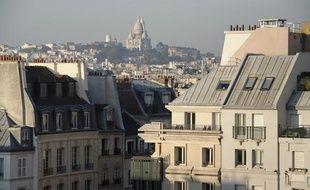 Illustration, immobilier à Paris.