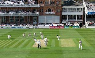 Le stade de cricket Lord's Cricket Ground de Londres en Angleterre.