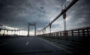 Le pont d'Aquitaine à Bordeaux.
