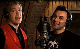 Arthur Gander et Sébastien Bizzotto, les interprètes de «L'Alsacitude».