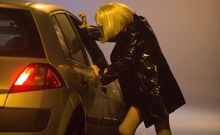 Illustration de la prostitution en France.