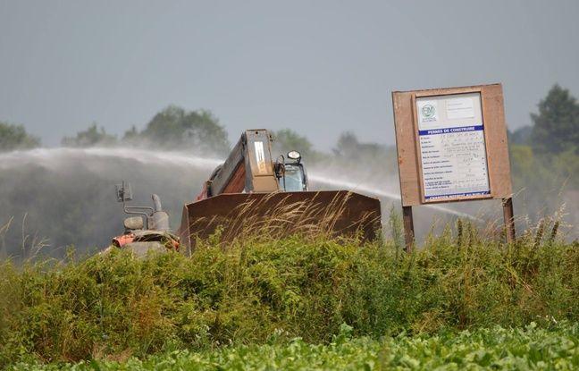 Le projet de construction d'un méthaniseur à Gouy-sous-Bellone, près de Douai.