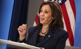 Kamala Harris, vice-présidente des Etats-Unis, le 1er avril.