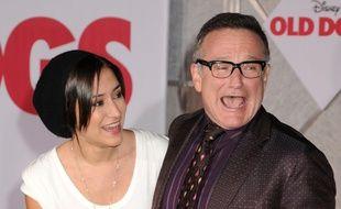 Zelda Williams et son père, l'acteur Robin Williams