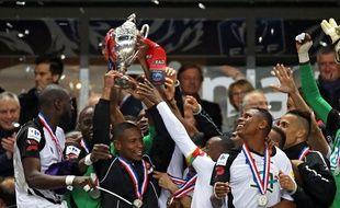 Guingamp a remporté la coupe de France en 2014 face à Rennes.