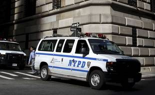Illustration police de New York.