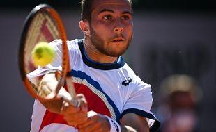 Hugo Gaston avait été la surprise de Roland-Garros en 2020.