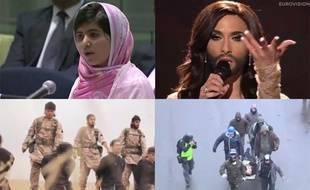 Les événements qui ont marqué le monde en 2014.