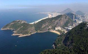 Paysage de Rio de Janeiro, au Brésil.