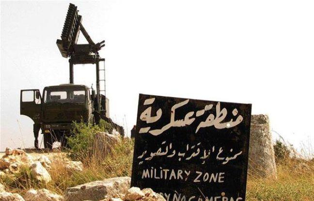 Un véhicule militaire près d'Alep, au nord de la Syrie, le 24 juin 2012.
